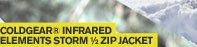 COLDGEAR(R) INFARED ELEMENTS STORM 1/4ZIP JACKET