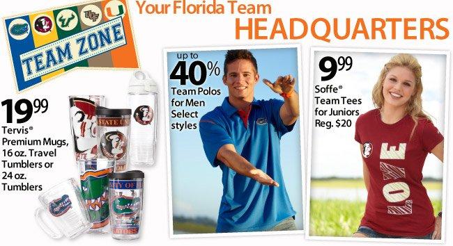 Your Florida Team Headquarters
