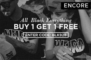 Encore: All Black Everything