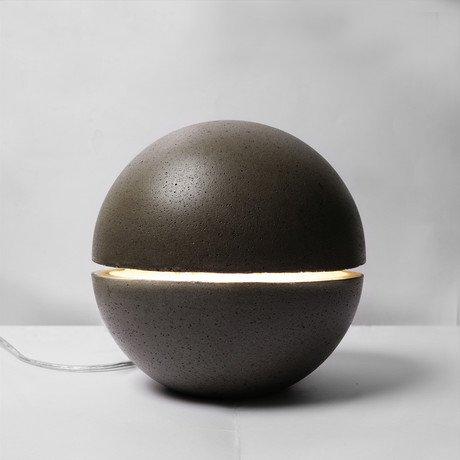 Gayalux Lamp // 18 cm // Black