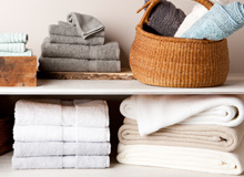 Update the Linen Closet Towels, Bedding, & More