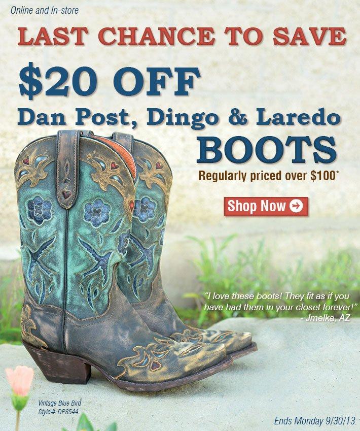 Shop Dan Post Boots