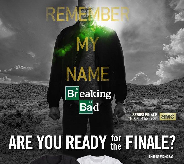 REMEMBER MY NAME - BREAKING BAD