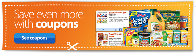Save even more with coupons