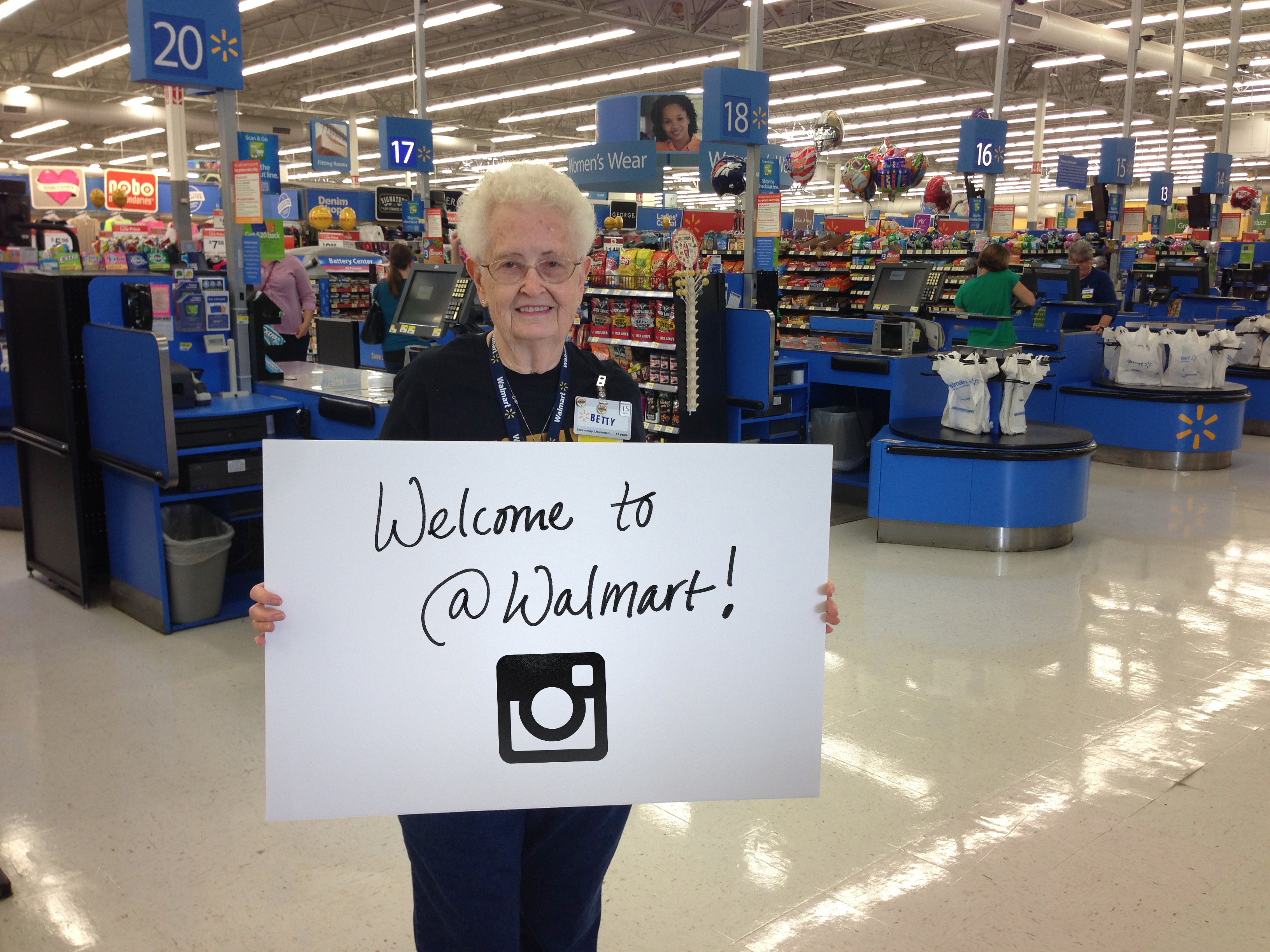 Walmart is on Instagram!
