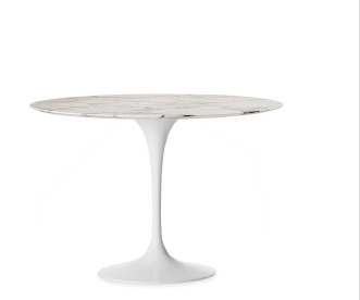 SAARINEN ROUND DINING TABLE (1956) DESIGNED BY EERO SAARINEN FOR KNOLL IN STOCK