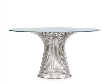 PLATNER DINING TABLE (1962) DESIGNED BY WARREN PLATNER FOR KNOLL IN STOCK