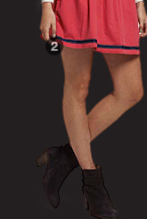 preppy circle skirt