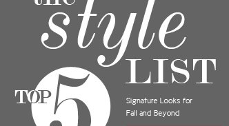 The style list - Top 5