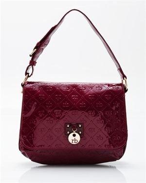 Roccobarocco Leo Monogram Shoulder Bag