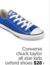 Converse chuck taylor all star kids oxford shoes $28›