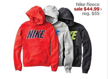 Nike fleece sale $44.99 › reg. $55