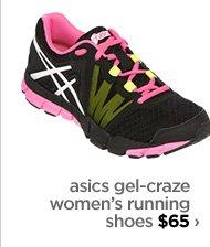 asics gel–craze women's running shoes $65 ›