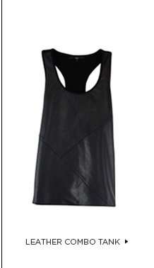 Leather Combo Tank