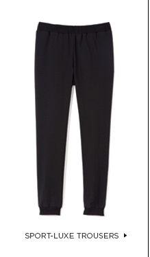 Sport-Luxe Trousers