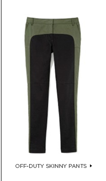 Off-Duty Skinny Pants