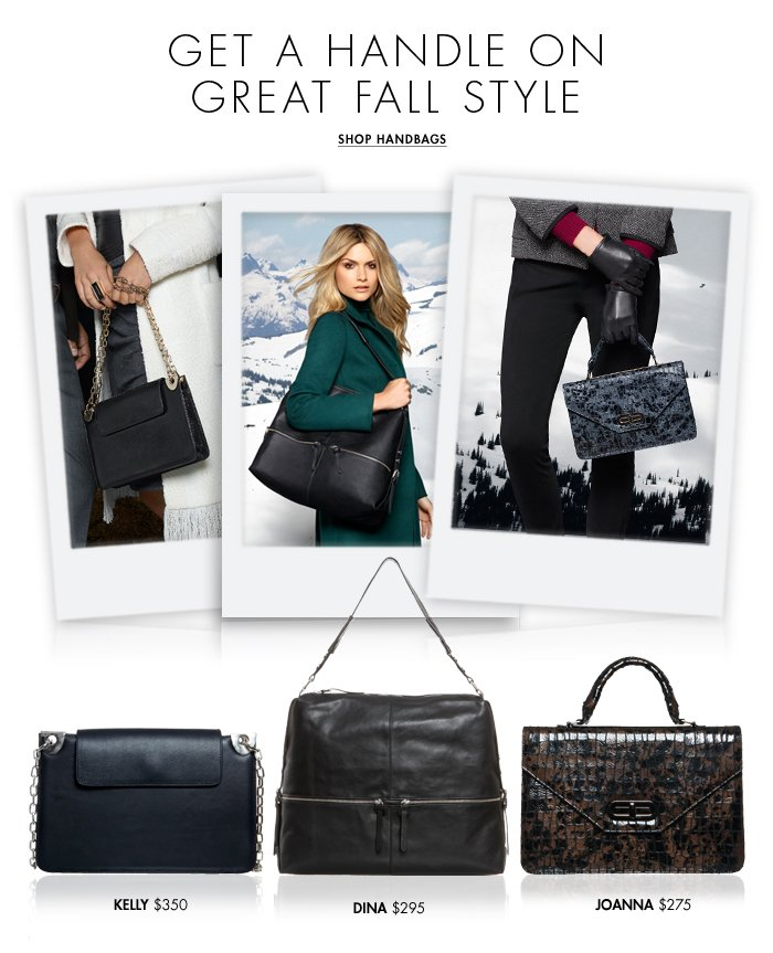 Shop Fall Handbags