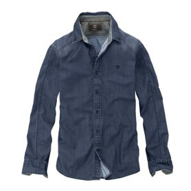 Earthkeepers® Long Sleeve Denim Work Shirt.