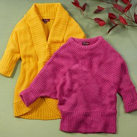 Sweaters Galore: Girls' Apparel