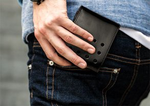 Shop Men's Essentials: Wallets & Belts