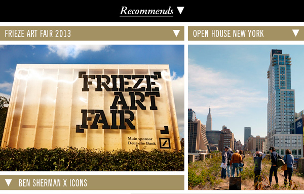Frieze Art Fiar 2013 | Open House New York