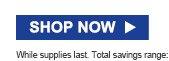SHOP NOW | While supplies last