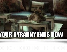 YOUR TYRANNY ENDS NOW
