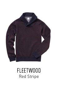 Red Stripe Fleece