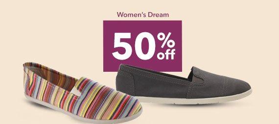 SHOP THE DREAM - 50% off
