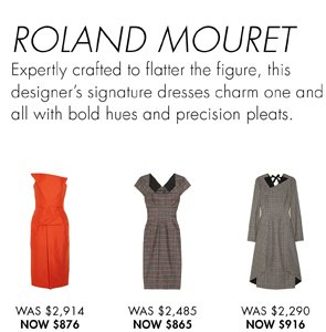ROLAND MOURET UP TO 65% OFF