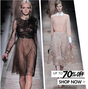 VALENTINO UP TO 70% OFF