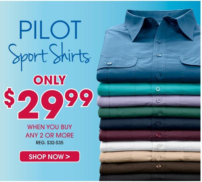 Mix & Match Pilot Shirts
