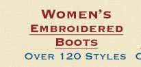 Shop All Womens Embroidered Boots