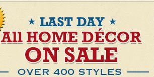 All Home Dècor on Sale