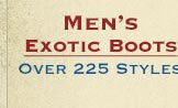 Shop All Mens Exotic Boots