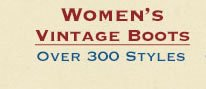 Shop All Womens Vintage Boots