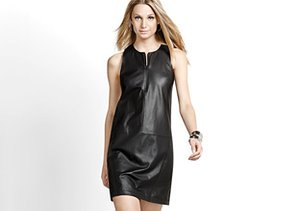 Leather & Faux Leather Dresses