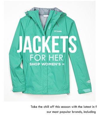 Shop Women's Fall Jackets