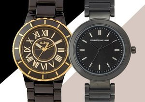 Back to Basics: Black & Brown Watches