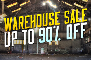 Warehouse Sale: Up To 90% Off