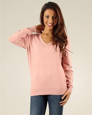 Maille Be Cachemire V-Neck Pullover Made In Italy