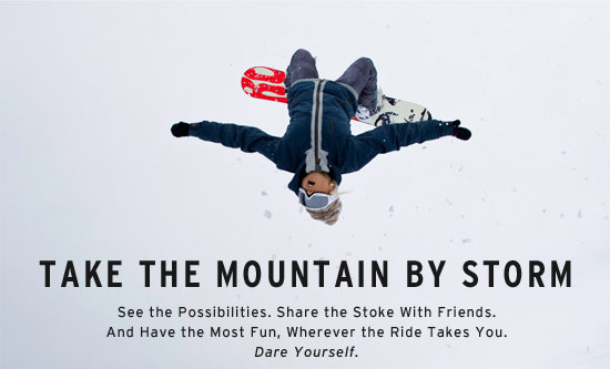 Take the mountain by storm