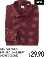 MEN CORDUROY SHIRT