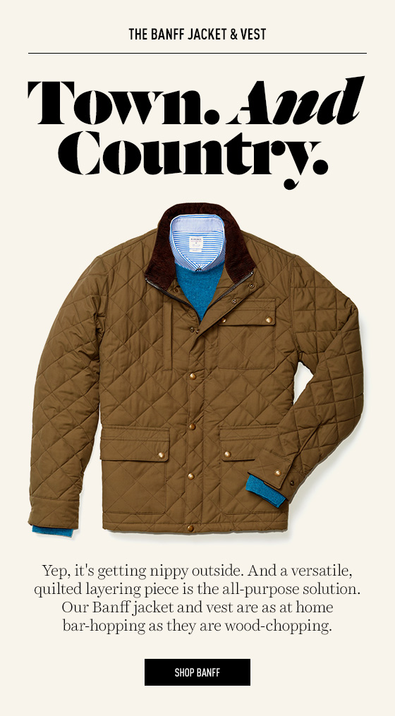 Banff Quilted Jacket