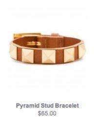 Pyramid Stud Bracelet