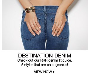 RRR Denim Fit Guide