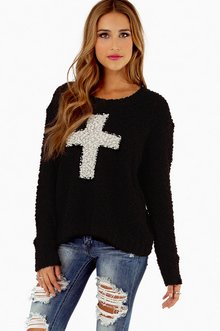 CROSS CENTERED SWEATER 43