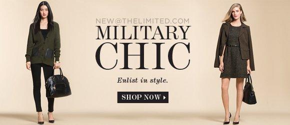 MILITARY CHIC