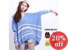 Oversized Striped Knit Sweater