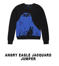 Angry Eagle Jacquard Jumper